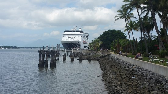 Pacific Eden: This is where we boarded the ship in Cairns..