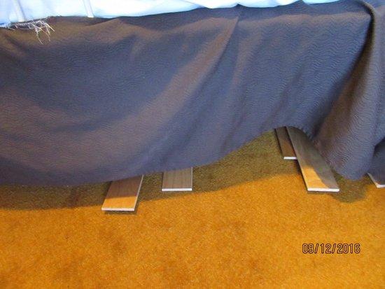 MSC Divina: Cabin bed broken