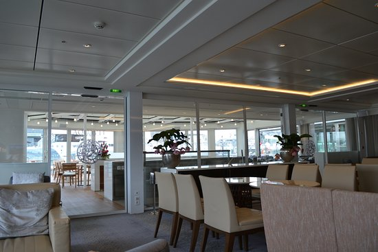 Viking Alruna: The lounge on board the Alruna