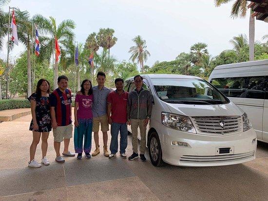Cambodia Taxi Driver