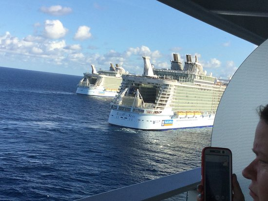 Harmony of the Seas: Meeting of the three sisters
