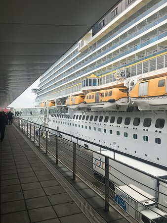 Costa Diadema: Just embarked