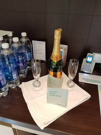 Norwegian Getaway: All penthouses get a free bottle of sparkling wine (bubbly). Not the best but it sets an awesome mood for sail away!