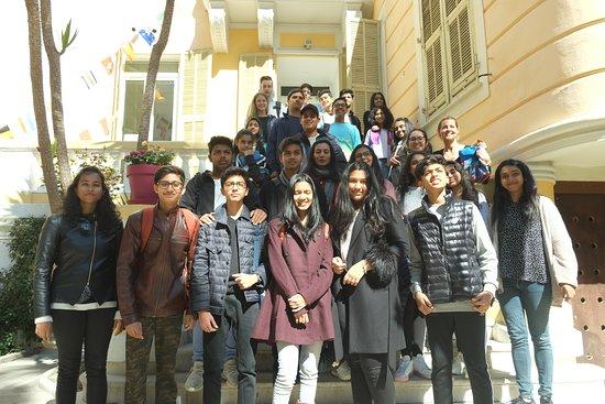 Azurlingua, ecole de langues Nice, France: Groupe indiens - École Azurlingua Nice Côte d'Azur