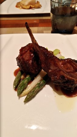 New Zealand Rack of Lamb - juicy and so tender it melts in your mouth.