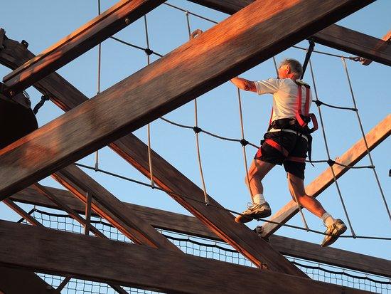 Norwegian Getaway: Ropes course