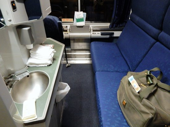 Harmony of the Seas: AMTRAK sleeper train from Philadelphia to FT. Lauderdale .