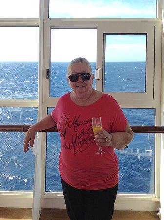 Harmony of the Seas: A beautiful morning on Royal Caribbean