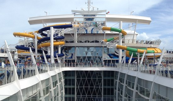 Harmony of the Seas: The Perfect Storm trio of water slides on Royal Caribbean