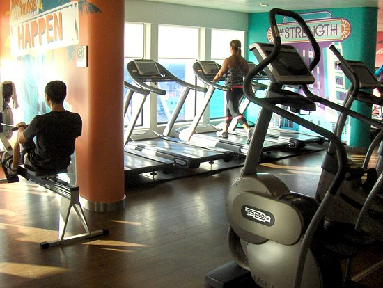Norwegian Getaway: Excersize on the NCL Geataway ship with ocean view!