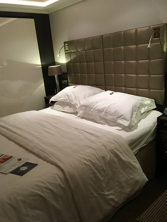 AmaStella: The main bed turned down for the night with chocolates on the pillows