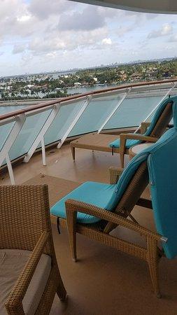 Norwegian Getaway: Large Balcony