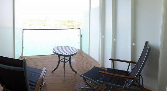Celebrity Reflection: Concierge Class balcony