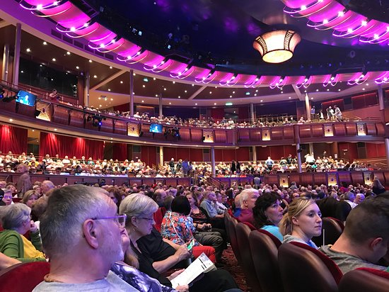 Harmony of the Seas: Amazing Royal Theater.   We were there for Grease.