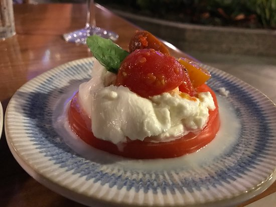 Harmony of the Seas: Jaime's Italian Appetizer.  Yummy.    You had to pay for good food on t