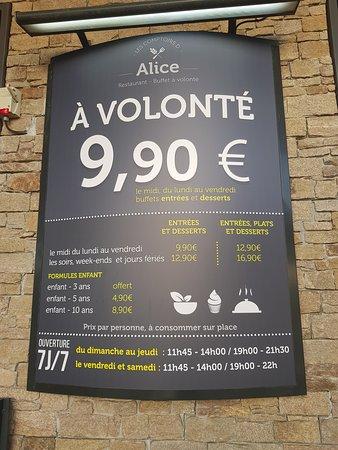 Les Comptoirs D Alice Et Jules Saint Nazaire French Restaurant