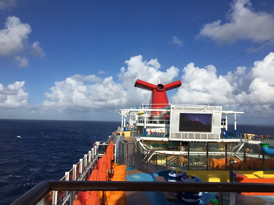 Carnival Vista: Sea Day