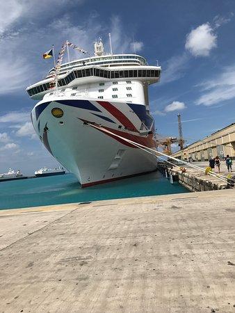 Britannia: The ship in Barbados