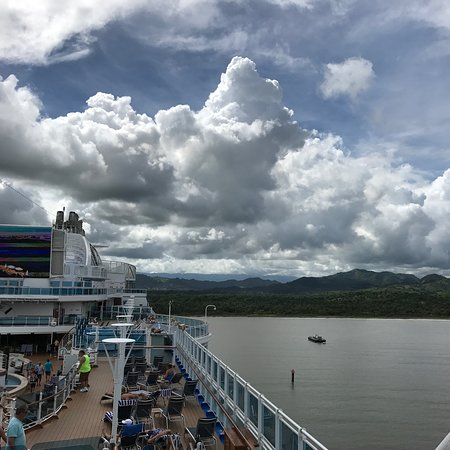 Regal Princess: Carib from the deck