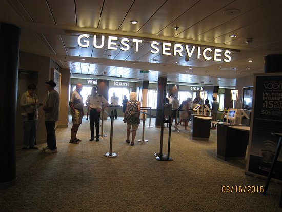 Anthem of the Seas: Guest Services