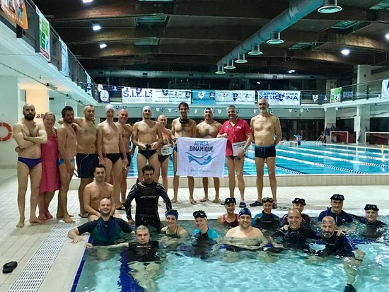 #ApneaDinamique Preganziol, #ApneaAcademy at Stile Libero swimming pools in Preganziol (TV) Italy.
