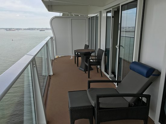 Anthem of the Seas: Terrace of Owners Suite