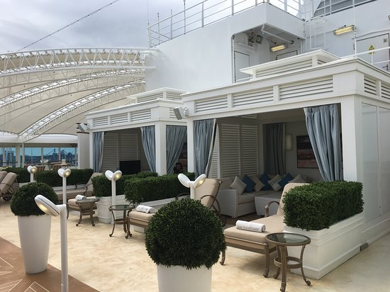 Regal Princess: The adult's only portion of the ship.  Ours was a cold-weather cruise s