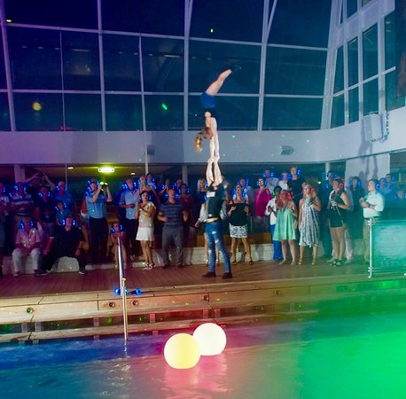 Celebrity Reflection: Silent disco and entertainment