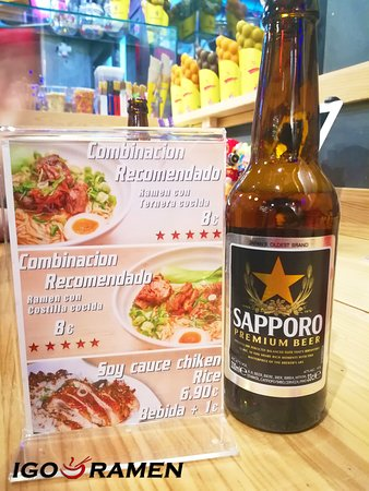 Nuestras combinaciones recomendadas siempre van mejor con una cerveza 😋🍺