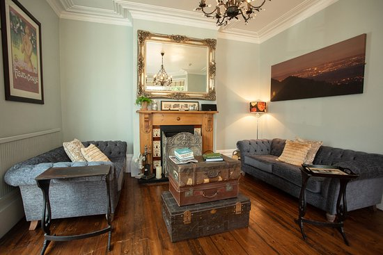 Our beautiful, relaxing exclusive Guest Lounge with Honesty Bar