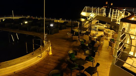 Pacific Eden: Adults only area by night