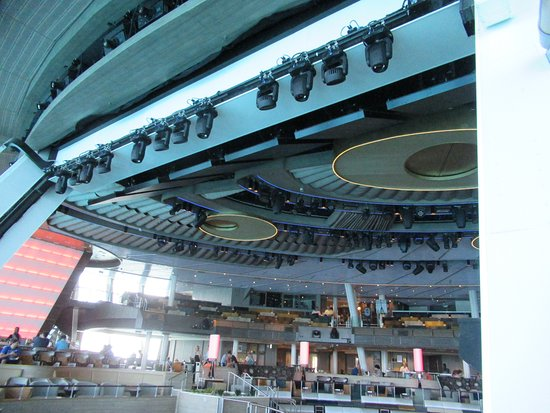 Anthem of the Seas: The elaborate lighting gear in Two70.