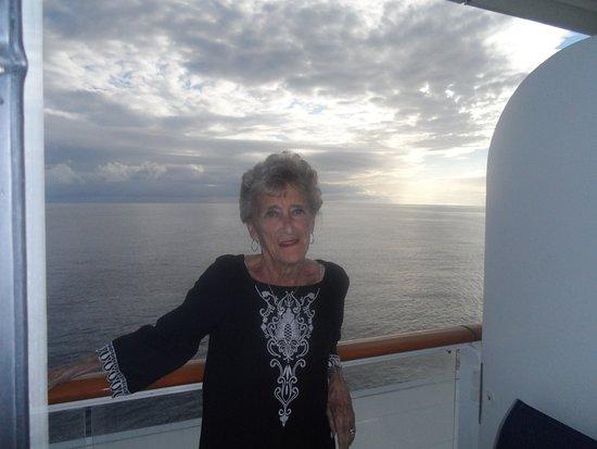 Norwegian Breakaway: Enjoying the cruise