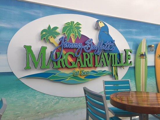 Norwegian Escape: Margaritaville restaurant onboard the Escape