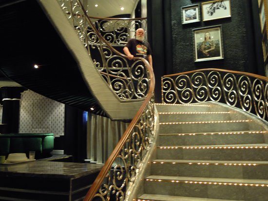 Pacific Eden: Marquee Theatre stairs