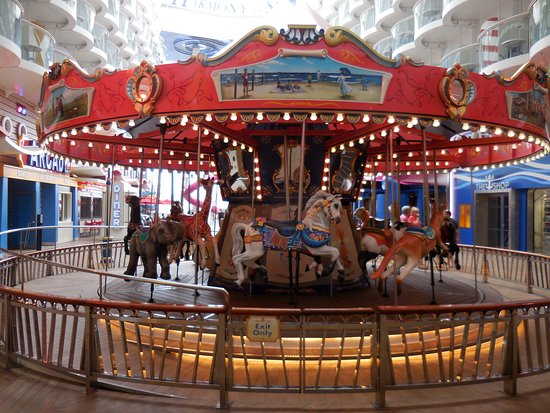 Harmony of the Seas: A Merry-go-round on a ship! Why not!
