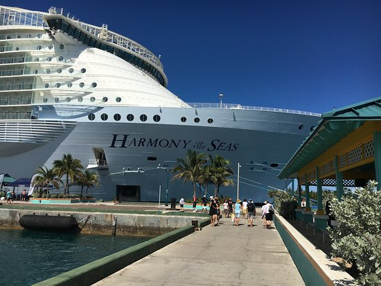 Harmony of the Seas: It's the ship in Nassau