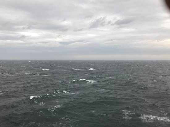 Anthem of the Seas: Rough Seas