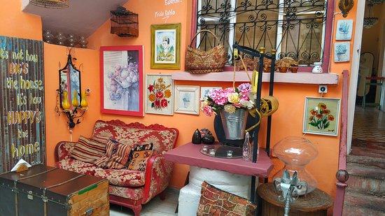 оригинальный интерьер чай-кофе дом