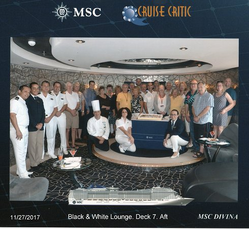 MSC Divina: Cruise Critic Party