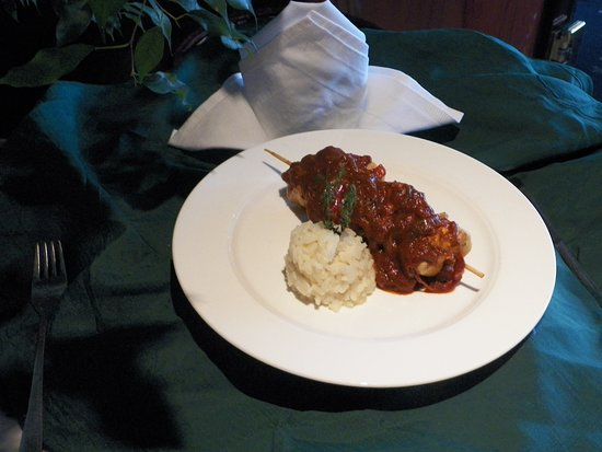River Concerto: I believe this was stuffed cabbage, as they displayed the main course just outside our room next to dining.