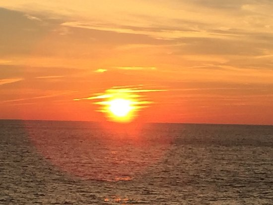 Norwegian Breakaway: View of a sunset