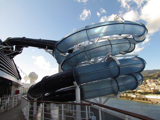 MSC Seaside: Water slide/tube that didn't work for at least half the voyage.