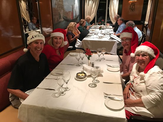 Regal Princess: Christmas eve dinner