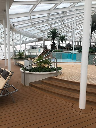 Quantum of the Seas: Suite guests and diamond and above very exclusive