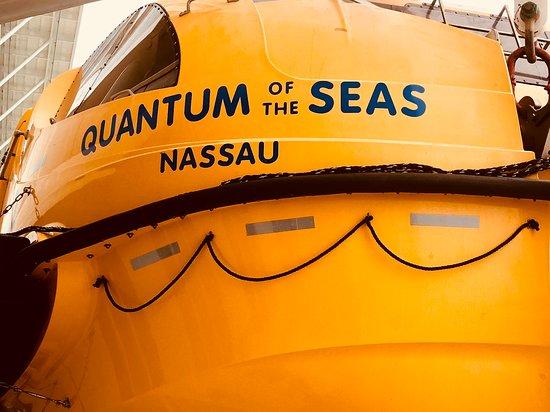 Quantum of the Seas: Life boat