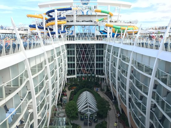 Harmony of the Seas: View from Central Park Balcony and 3 Of 5 slides