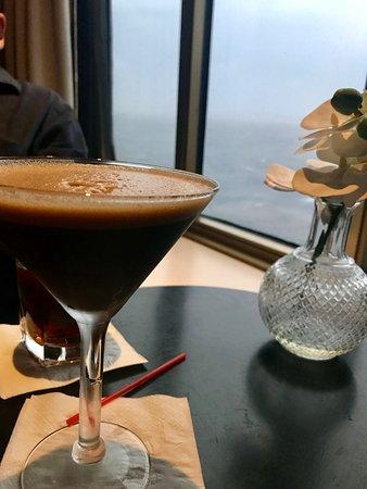 Pacific Eden: Espresso Martini from the Blue Room bar