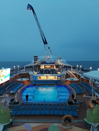 Quantum of the Seas: North Star and Pool Deck