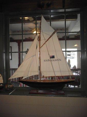 MASS - PALMER - CJ'S #4 - LARGE MODEL SHIP